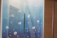 クラゲの暖簾